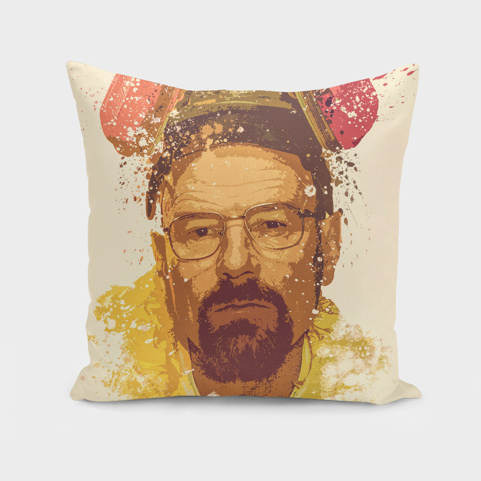 Breaking Bad, Walter White splatter painting