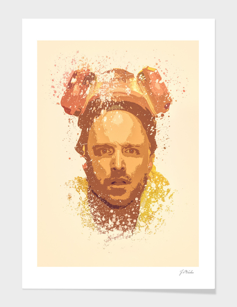 Breaking Bad, Jesse Pinkman splatter painting