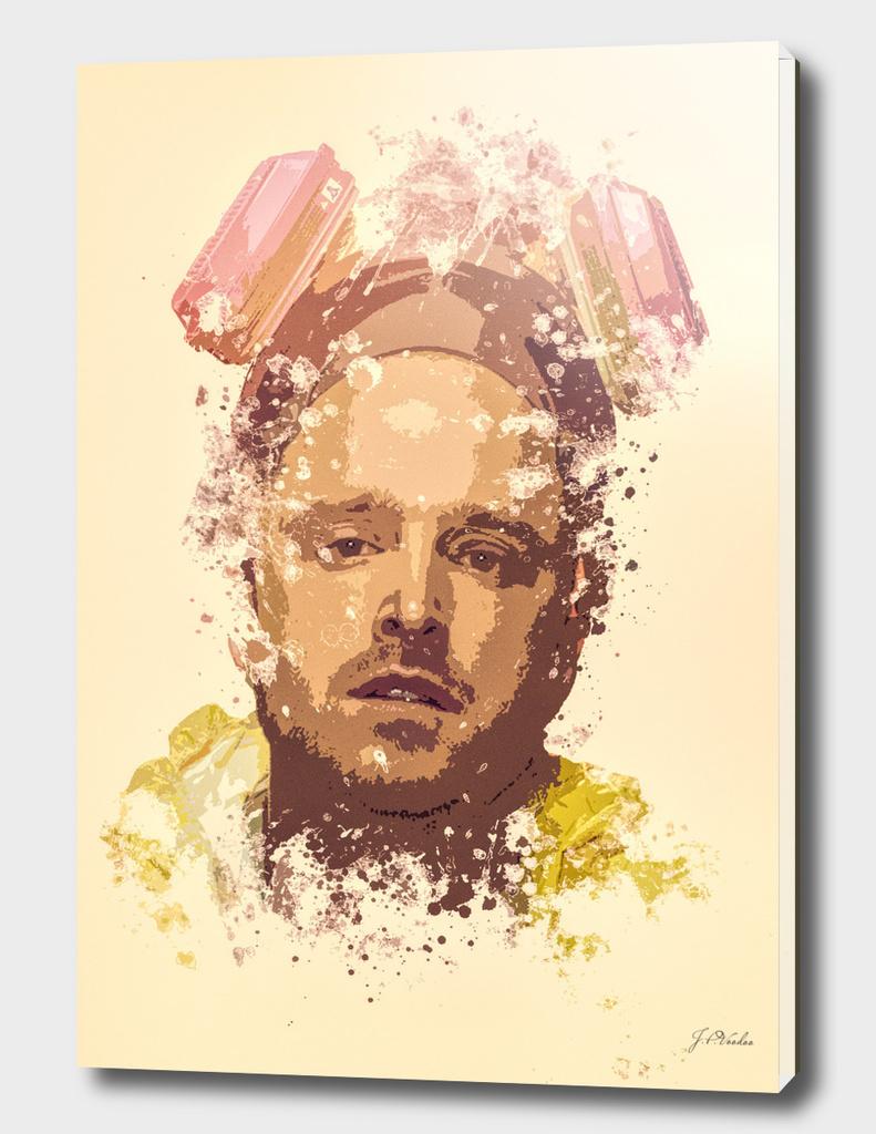 Breaking Bad, Jesse Pinkman splatter painting