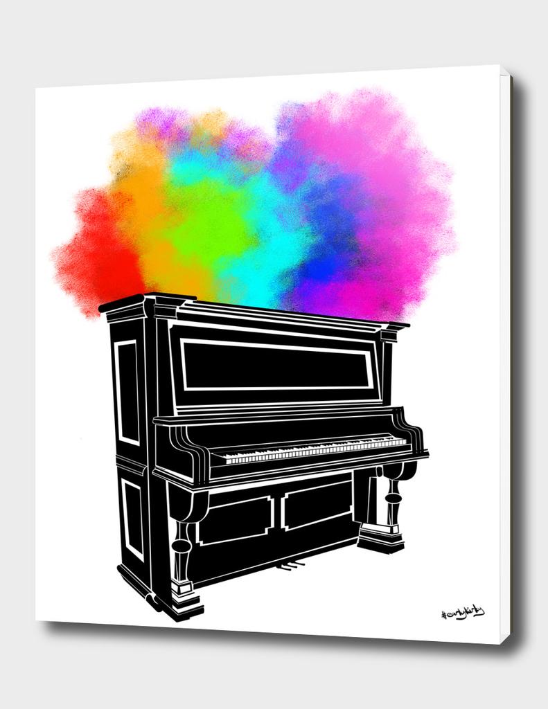 Piano Explosion
