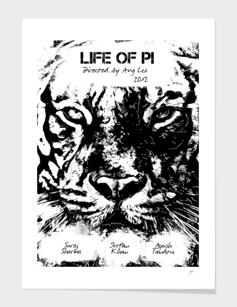 My film poster Life of Pi