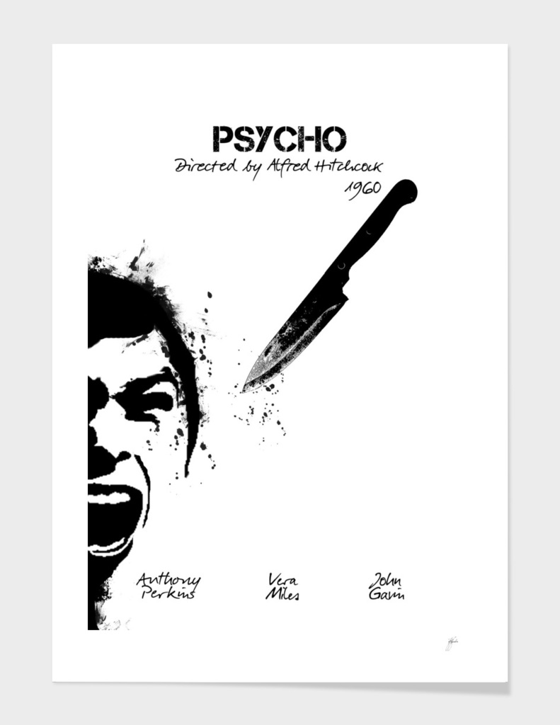 Psycho by Alfred Hitchcock