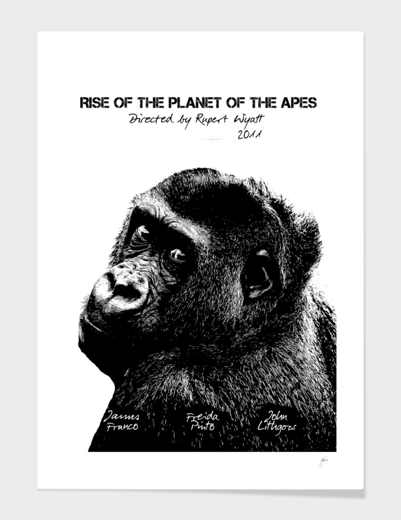 Rise of the Planet of the Apes by Rupert Wyatt 2011