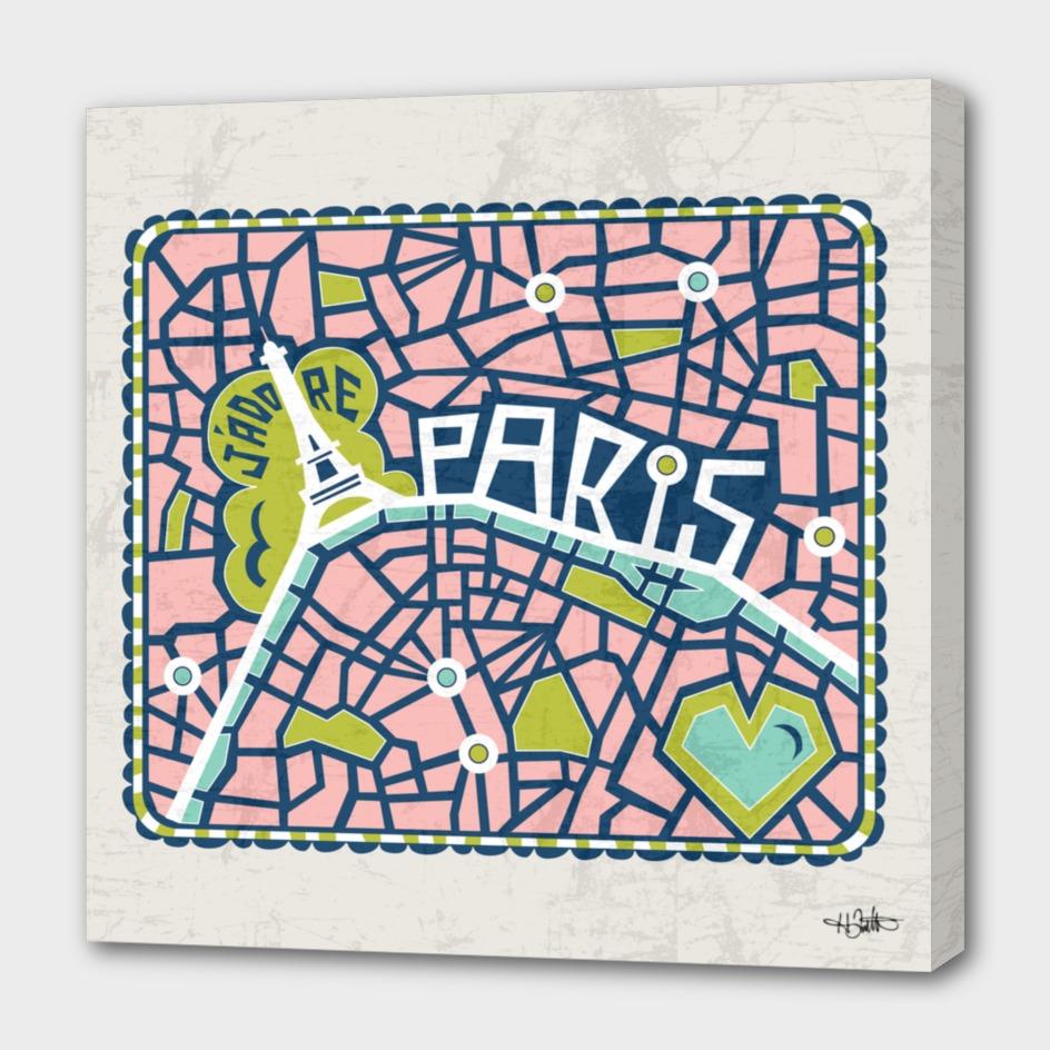 J'adore Paris Tan
