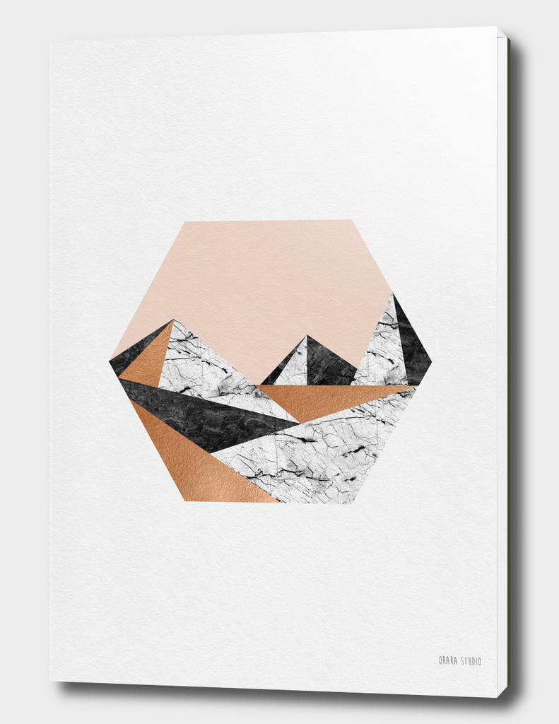 Geo Landscape Hexagon