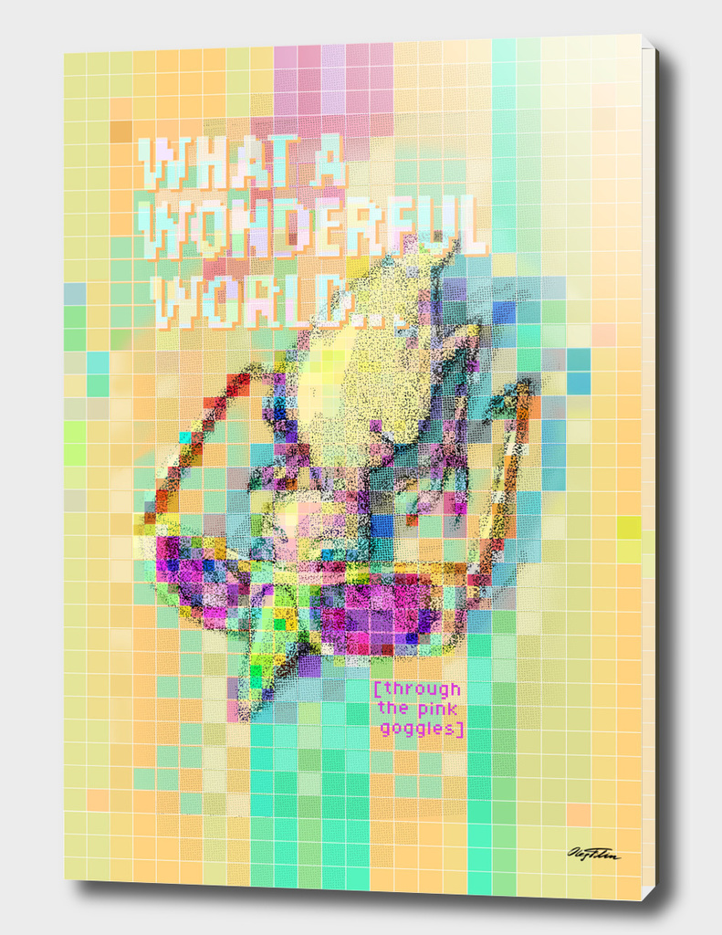 'Wonderful World! ' T-shirt design