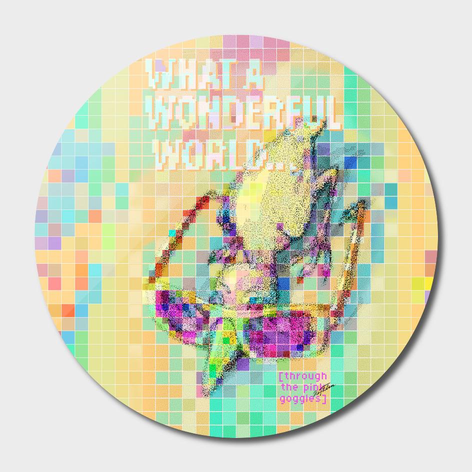 'Wonderful World! ' T-shirt design
