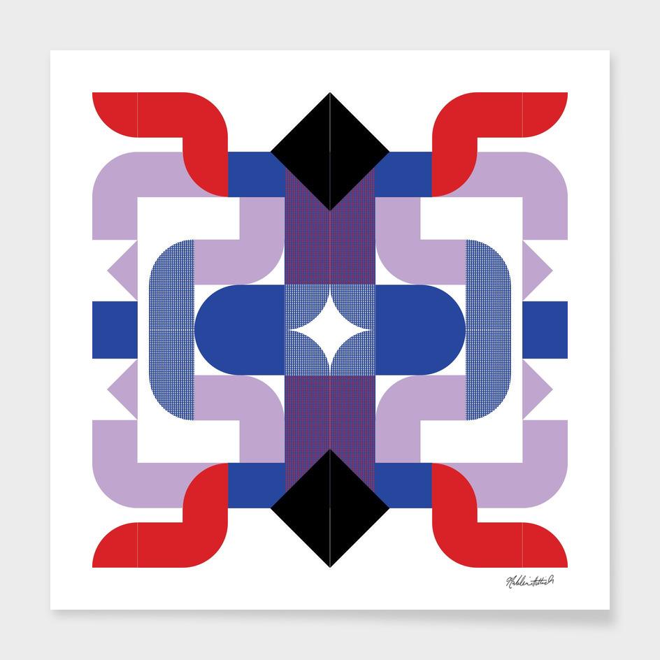 Graphic Kaleidoscope Design 22