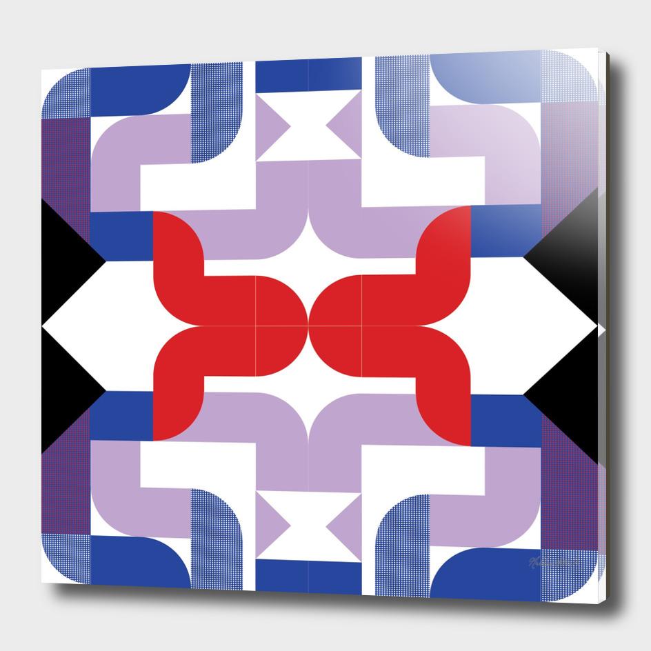 Graphic Kaleidoscope Design 24