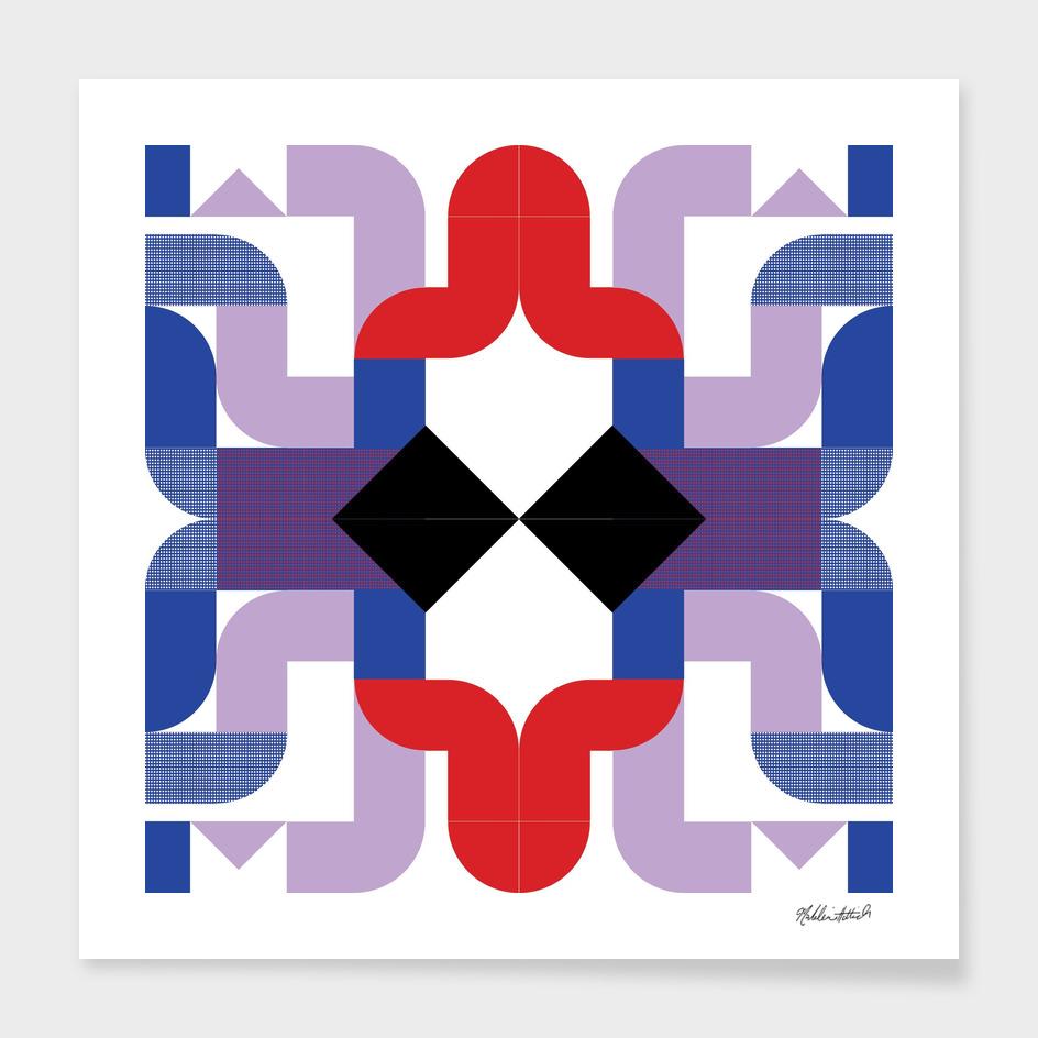 Graphic Kaleidoscope Design 25