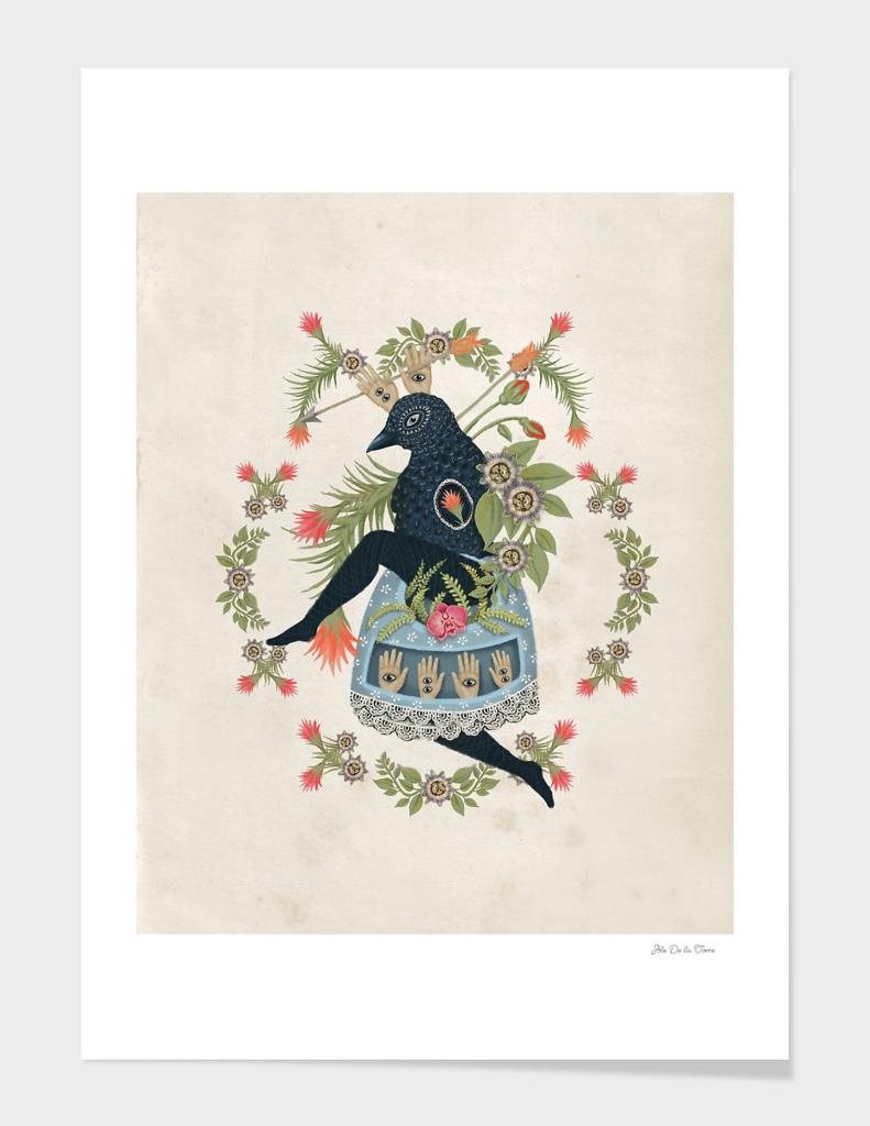 Bird's dance
