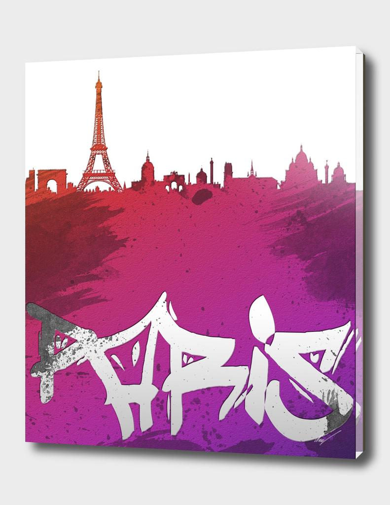 Paris Cityscape Silhouette