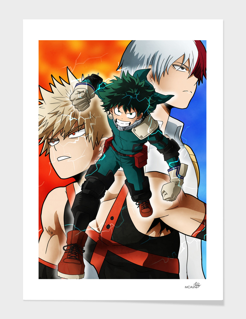 Boku no hero academia Artwork