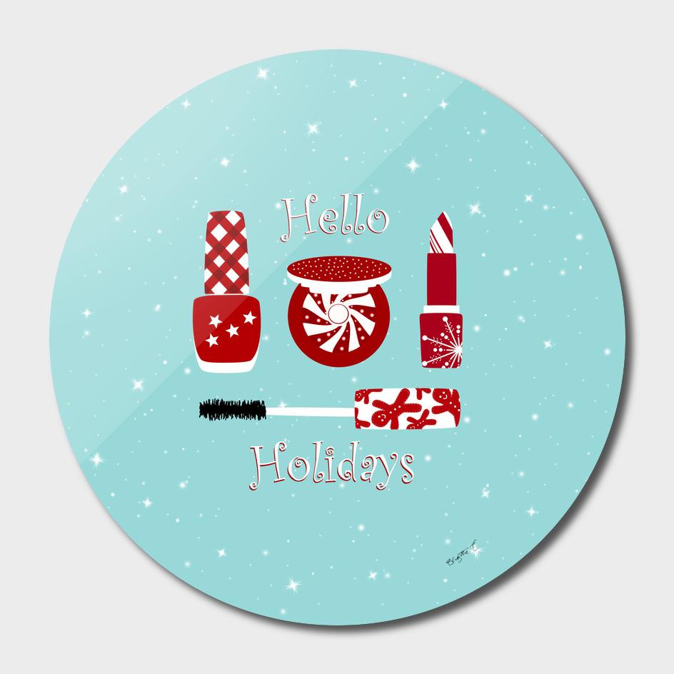 Super Cute Makeup Holiday Design