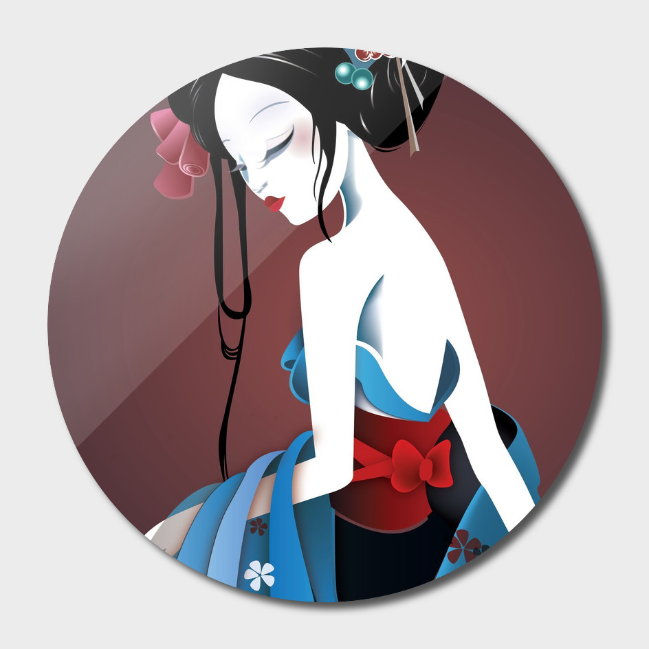 Beautiful Asian Geisha