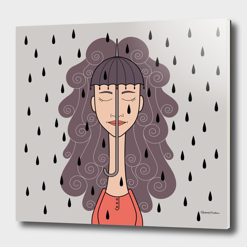 You look like rain