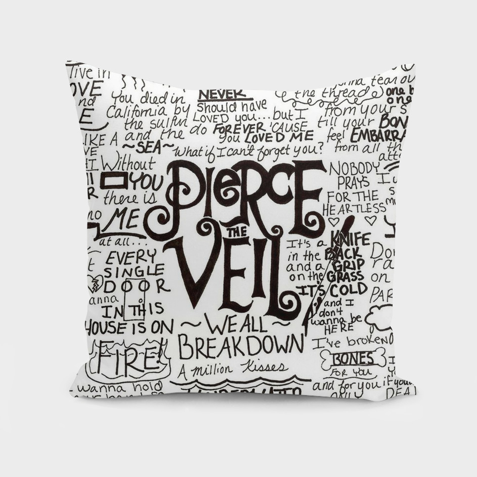 Pierce The Veil Music Band Group Fabric Art Cloth Pos