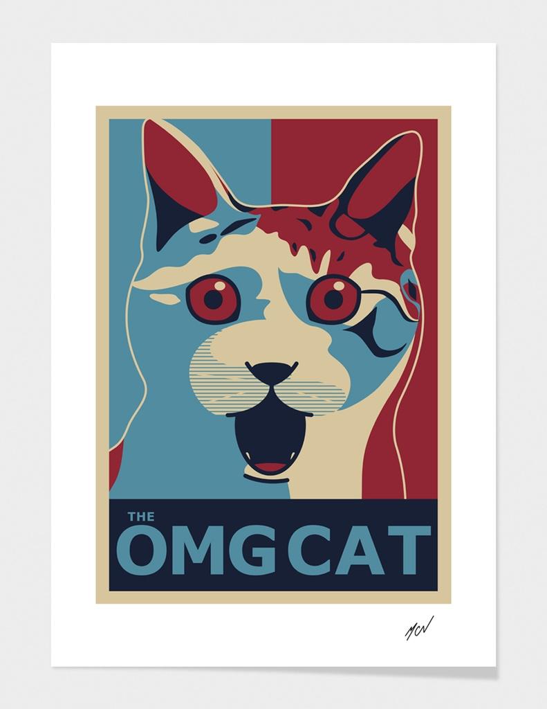 The OMG Cat - Ob Poster
