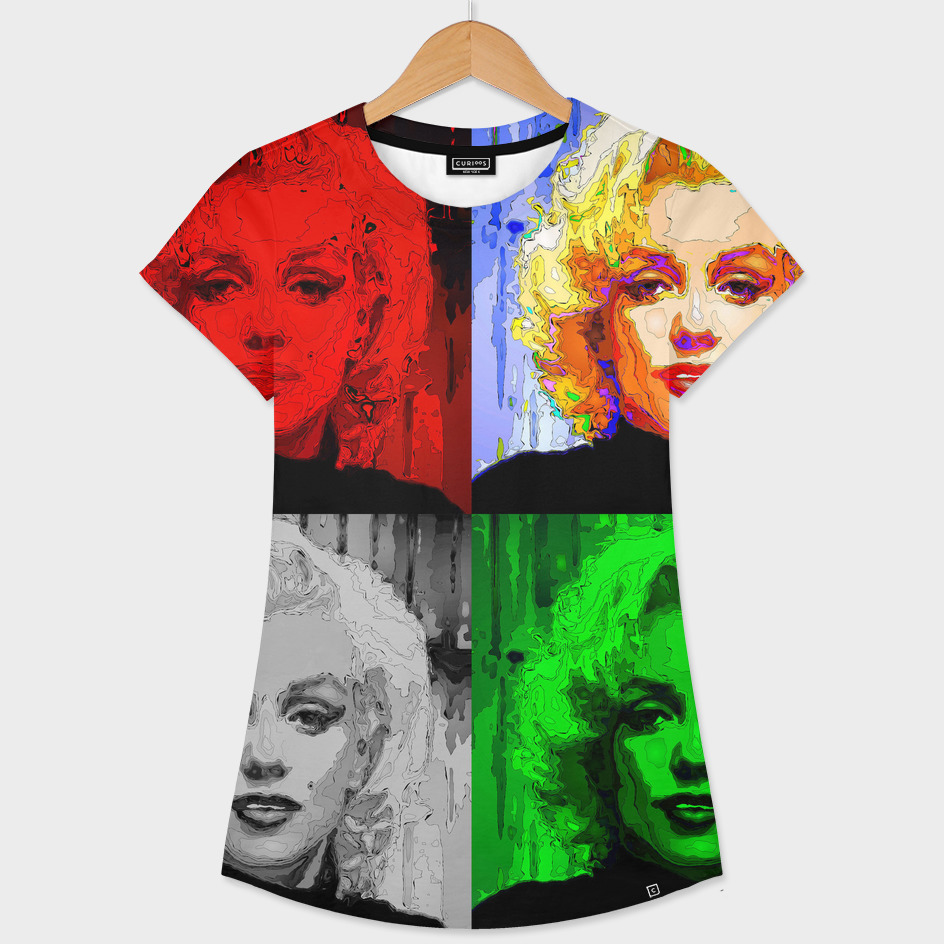 Marilyn Quad Pop Art