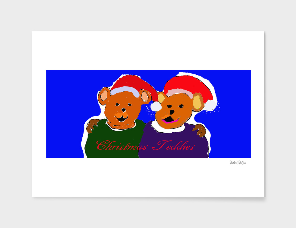 Christmas-Teddies