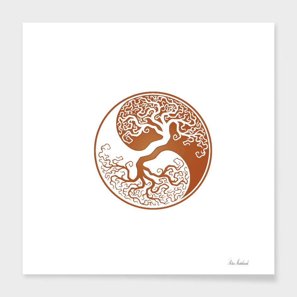 Tree of Life Yin Yang