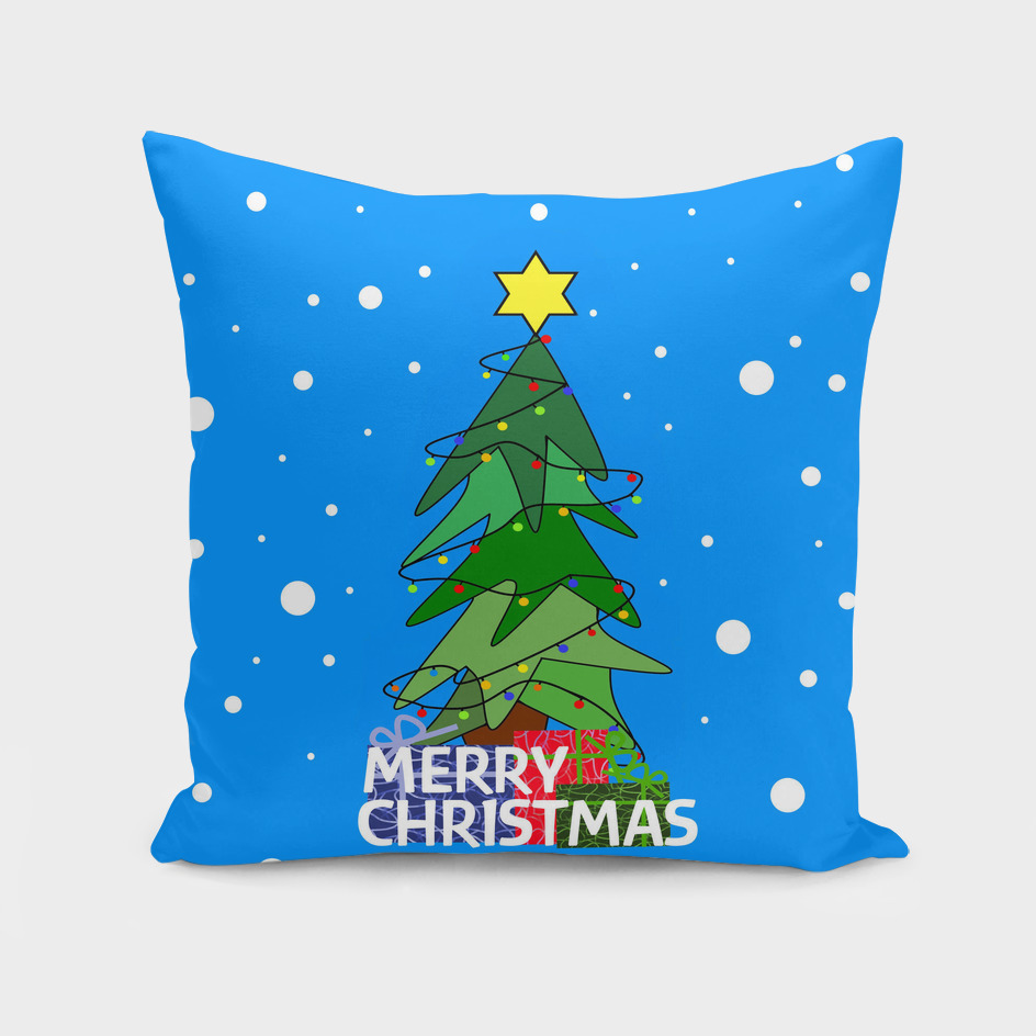 Merry Christmas Whimsical Tree