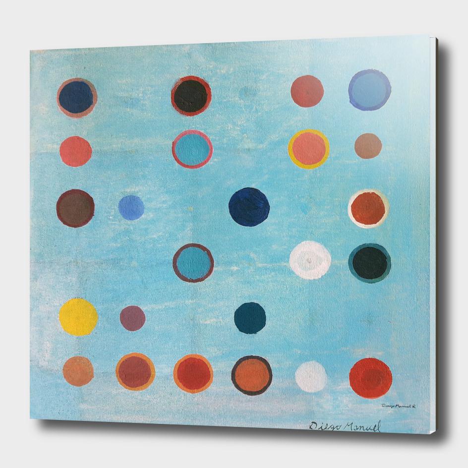 Composición con círculos