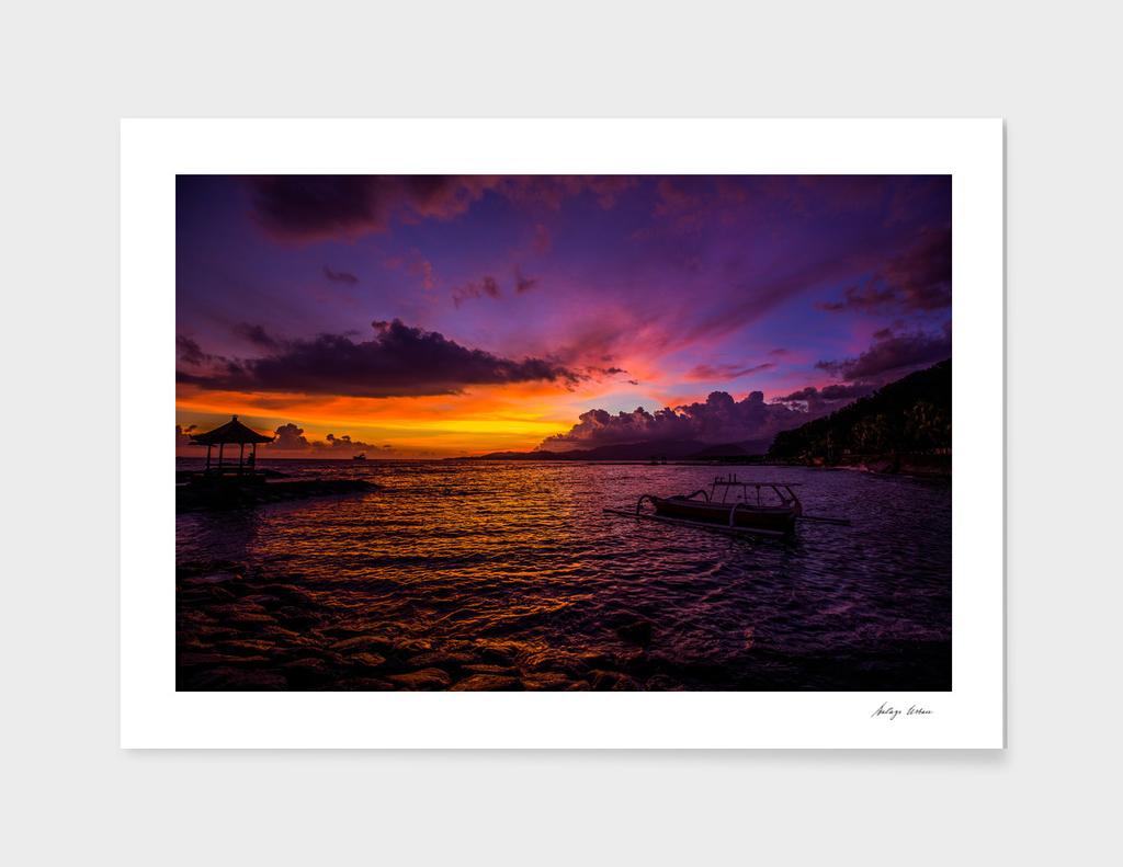 Balinese sunset