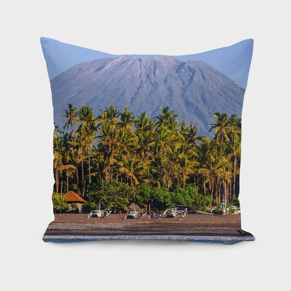 Mt Agung volcano
