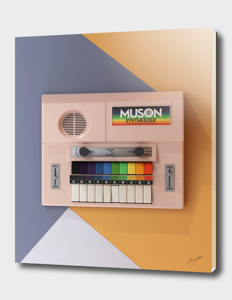 Muson Toy Synthesizer - The Sound of Music
