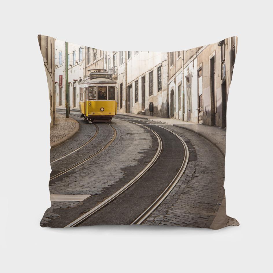 Tram 28 of Lisbon