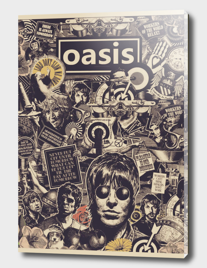 Vintage posters OASIS rock band
