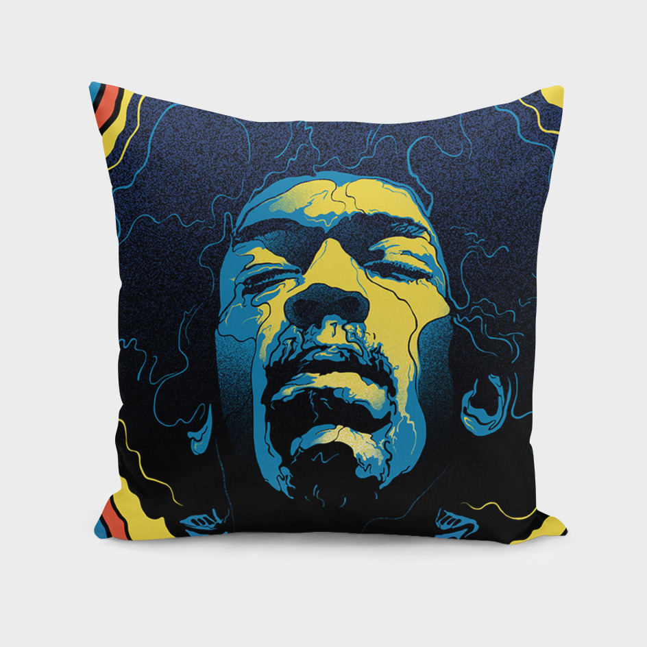 Gabz Jimi Hendrix Voodoo Child Poster