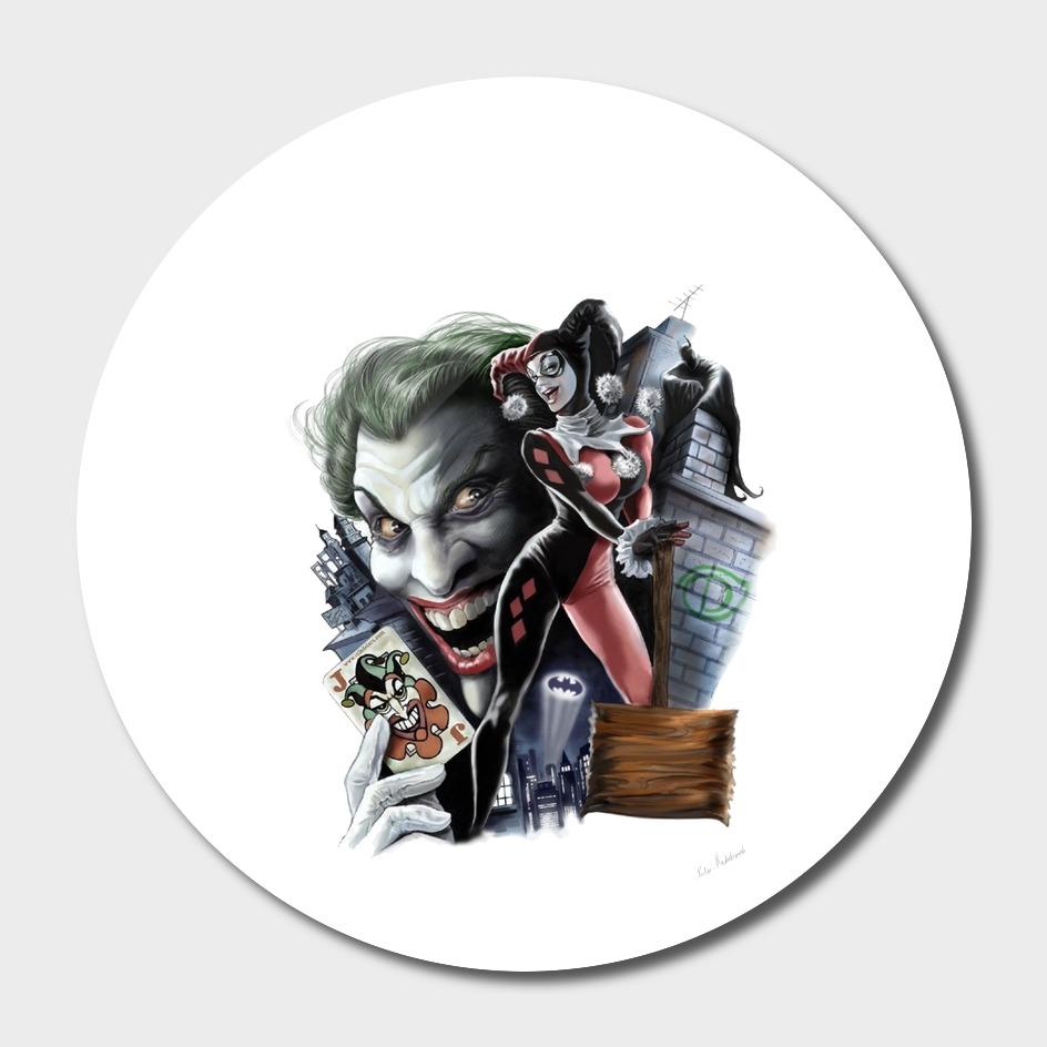 Harley quinn joker batman dc comics
