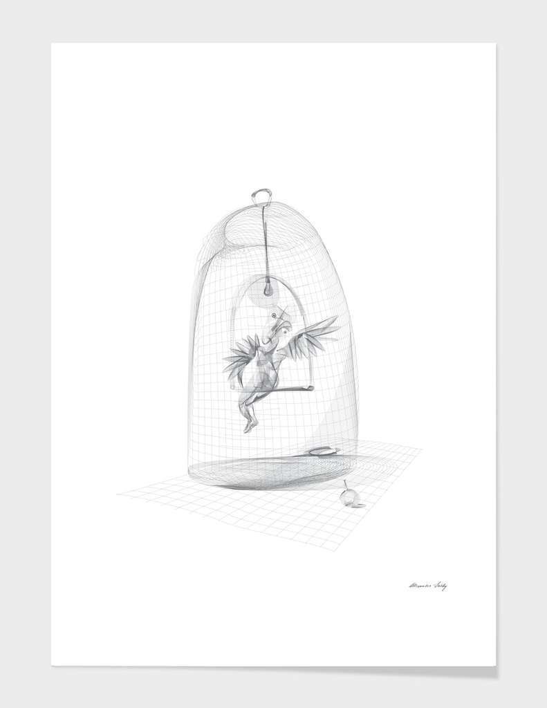 The Angel in a Cage