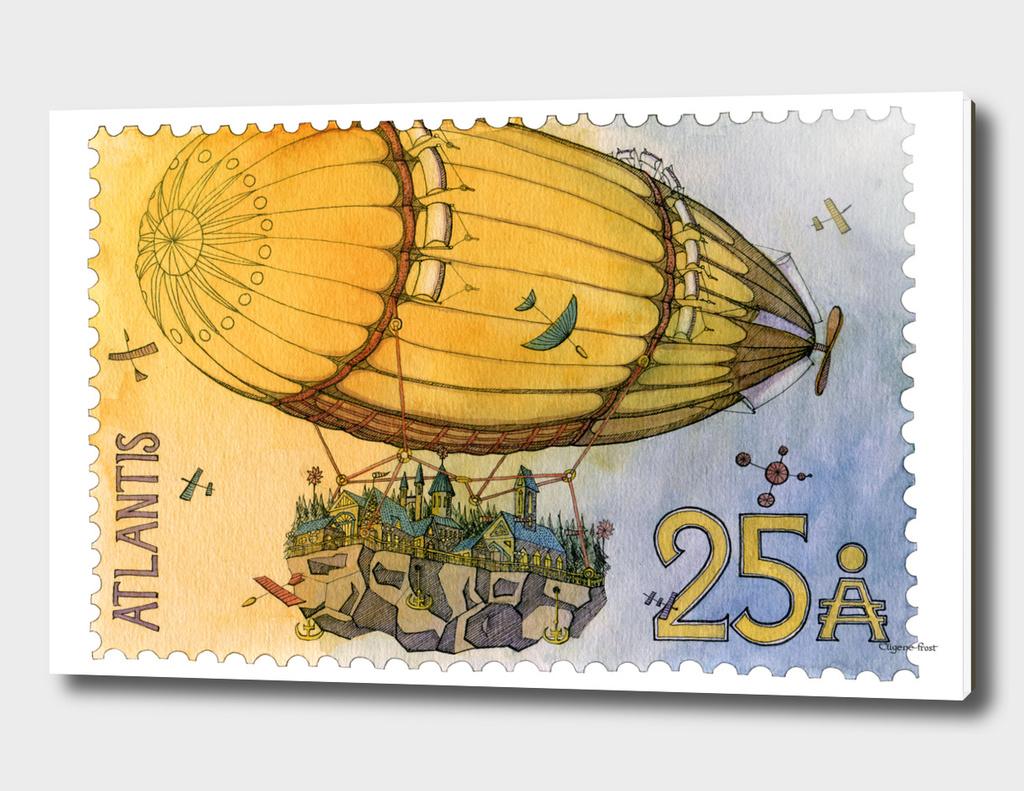 Atlantis Stamp