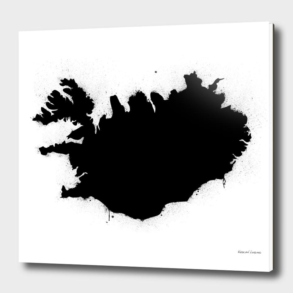 Iceland White&Black