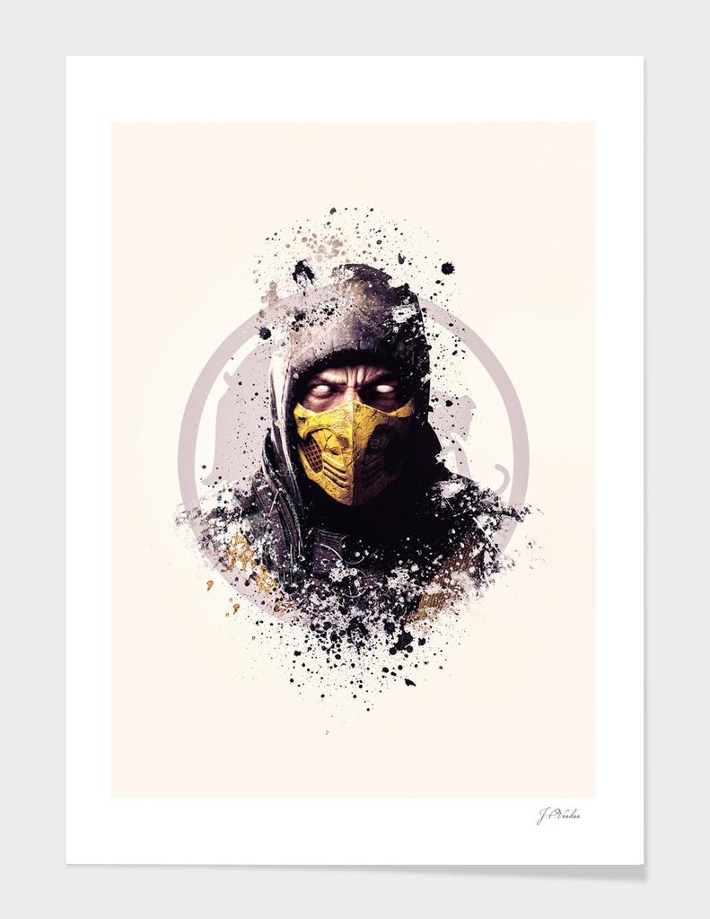 Mortal Kombat, Scorpion splatter