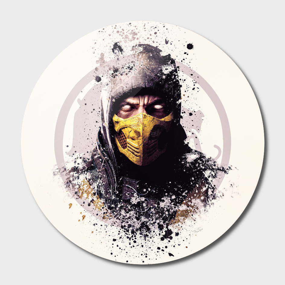Mortal Kombat, Scorpion splatter