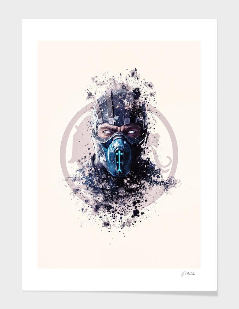 Mortal Kombat, Subzero splatter