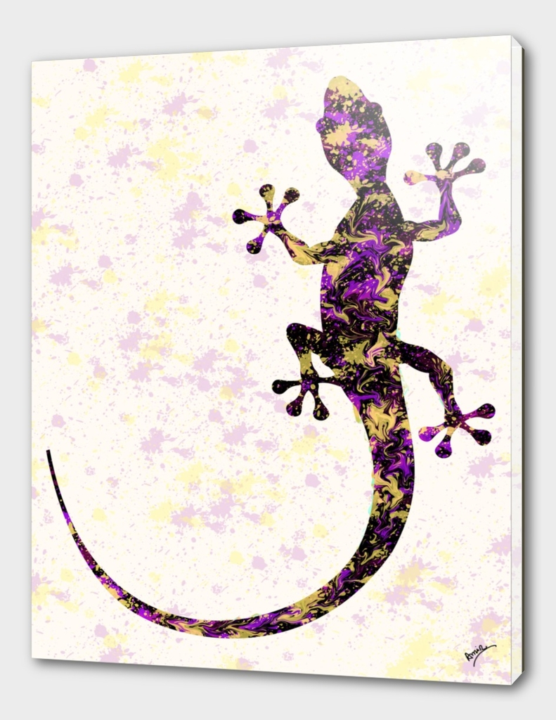 Abstract Lizard