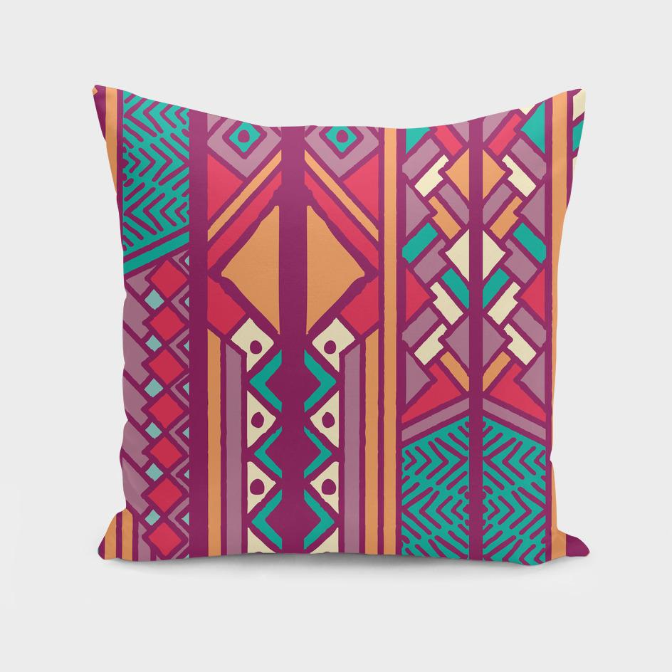 Tribal ethnic geometric pattern 001