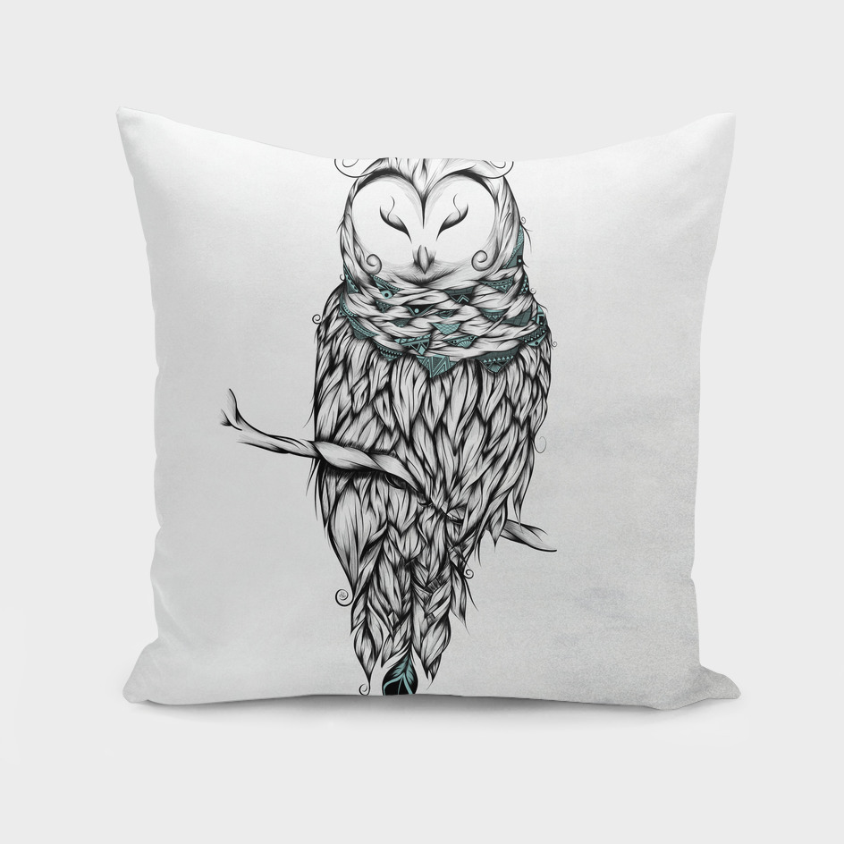 Poetic Snow Owl