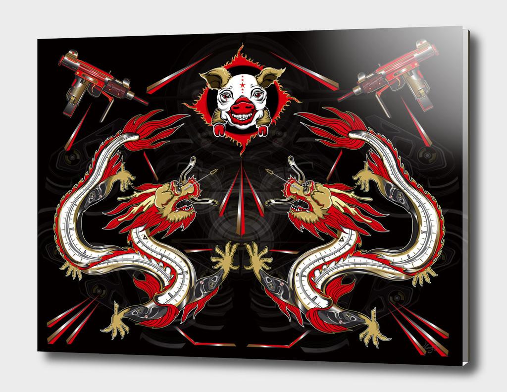 Machine Dragons&Pig