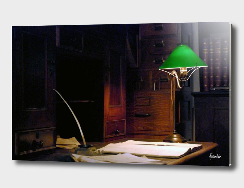 080517F Desk scene