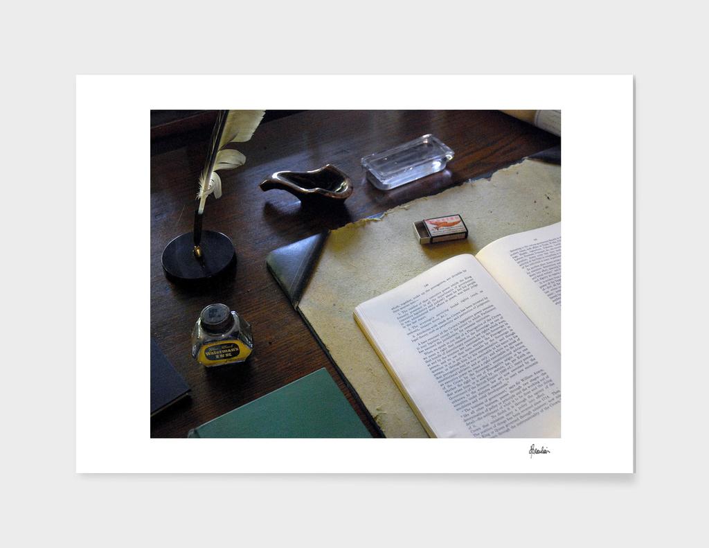080922E Leacock's upstairs desk 2
