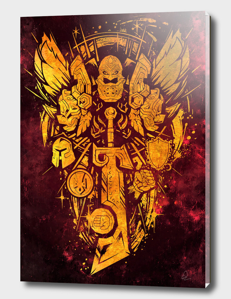 World of Warcraft *Paladin Crest*