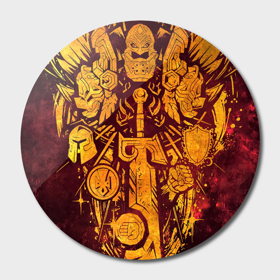 World of Warcraft *Paladin Crest*