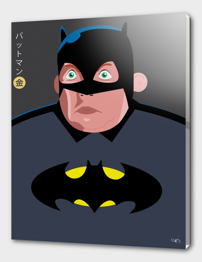 Politician as Batman