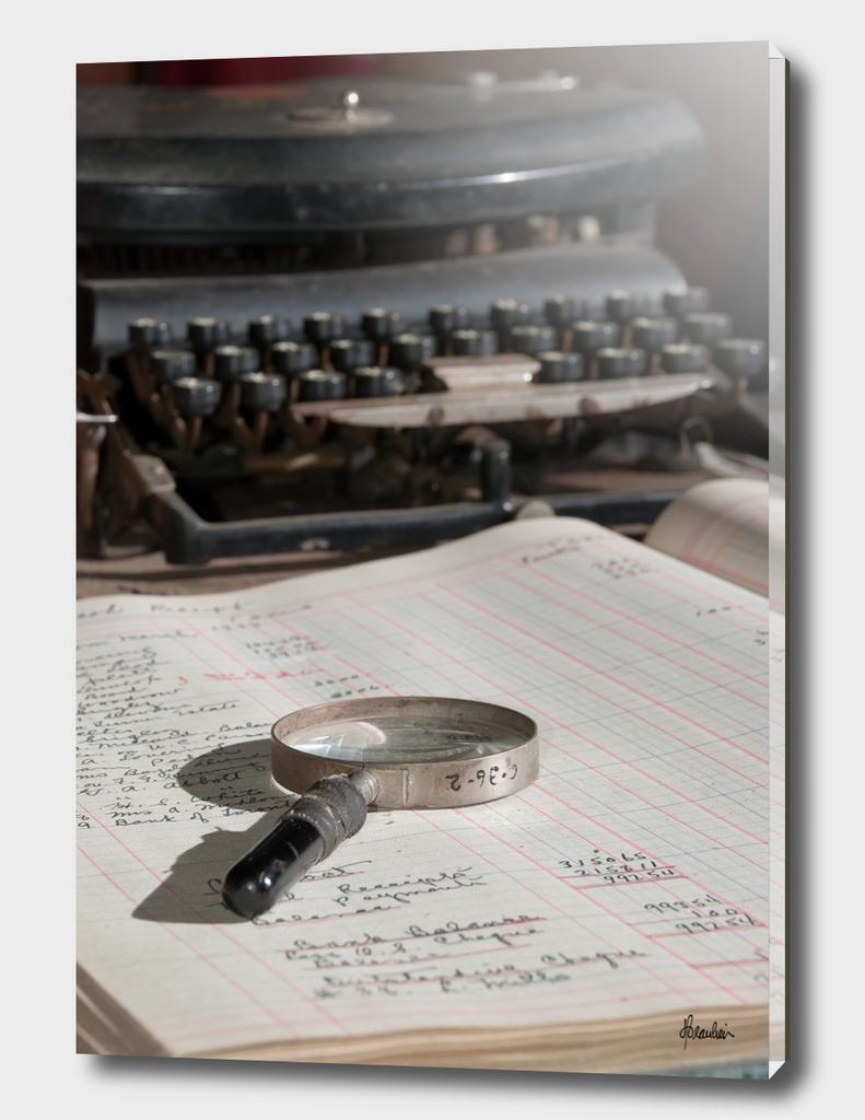 130710H Desk scene, detail 2